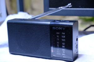 ラジオを買いました。
